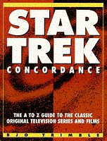Star Trek Concordance - The A-Z Guide to the Classic Original Television Series and Films