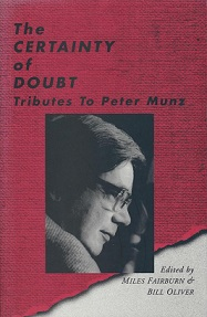 The Certainty of Doubt - Tributes to Peter Munz