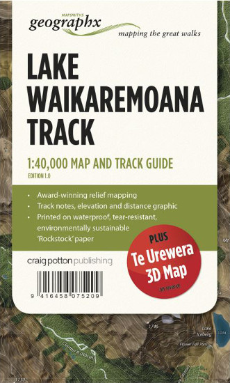 Lake Waikaremoana Track Map