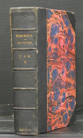 Herodoti Halicarnassei Historiarum Libri IX. Codicem Sancrofti Manuscriptum...annotationes Variorum Adjecit Thomas Gaisford. Editio Tertia Subinde Emendata