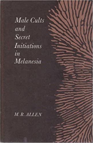 Male Cults and Secret Initiations in Melanesia