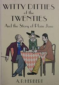 Witty Ditties of the Twenties and the Story of Plain Jane
