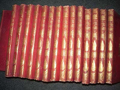 History of England, 16 volumes