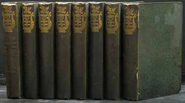 The Works of Robert Burns with His Life. (8 Volumes)
