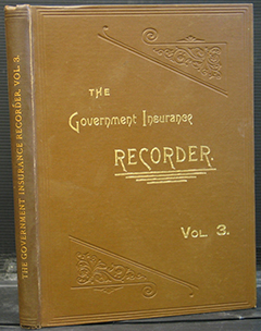 The Government Insurance Recorder Volume 3