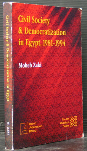 Civil Society & Democratization in Egypt, 1981-1994