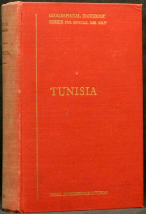 Tunisia - Geographical Handbook Series - B.R. 523