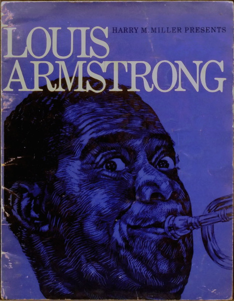 Louis Armstrong Promotional Programme for NZ Tour 1963 (Signed)