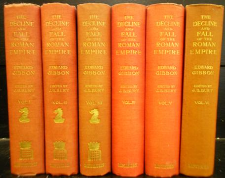 The Decline and Fall of the Roman Empire in Six Volumes