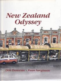 New Zealand Odyssey - A Graphic Journey