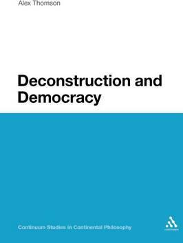 Deconstruction and Democracy