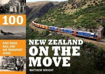 New Zealand on the Move: 100 Kiwi Road, Rail and Air Transport Icons
