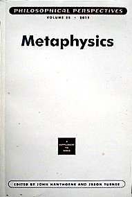 Metaphysics - Philosophical Perspectives  Volume 25, 2011