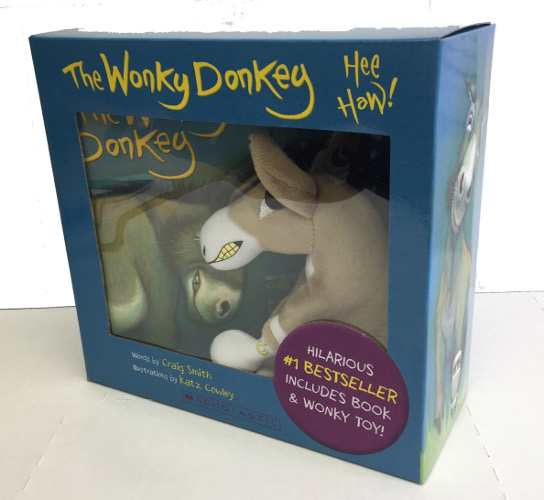 The Wonky Donkey Box Set & plush