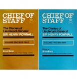 Chief of Staff - The Diaries of Lieutenant-General Sir Henry Pownall - Volume One 1933-1940 AND Volume Tw0 1940-1944