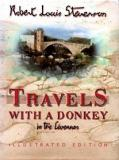 Travels with a Donkey in the Cevennes - Illustrated Edition