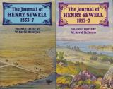 The Journal of Henry Sewell 1853-7 Volume I & Volume II