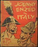 Johnny Enzed in Italy (Red Limpback Booklet Good Cond.)