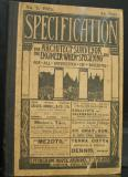 Specification for Architects, Surveyors and Engineers When Specifying: And for All Interested in Building: Division I Professional Practice; Division II Construction and Division III Municipal Engineer No 5, 1902
