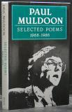 Paul Muldoon - Selected Poems 1968-1986 (Signed copy)