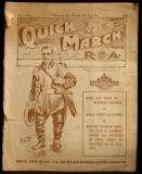 Quick March - Vol 1 No 1, Thursday 25th April 1918