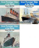 Great Passenger Ships of The World - 1913-1923 Volumes 1-3