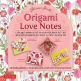 Origami Paper Love Notes Kit