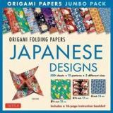 Origami Paper Jumbo Japanese Designs Box Kit